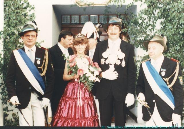 1982_Kaiserpaar_St_Sebastian_Alme_Boeddeker